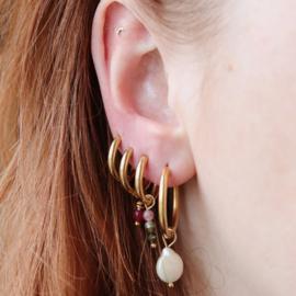 Tourmaline earring