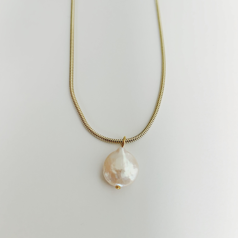 XL freshwater pearl necklace