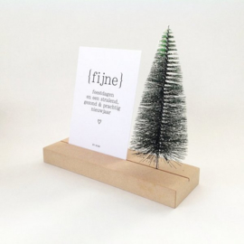 memory shelf  kerstboom