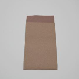 papieren zakje zacht roze