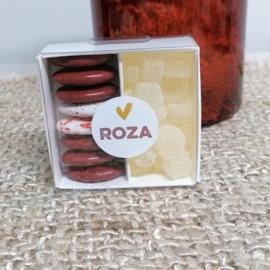 Roza set 50 stuks
