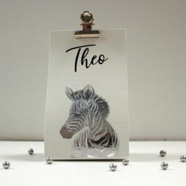 10 wikkeltasjes met zebra