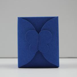 kobaltblauwe doopsuikerdoosjes