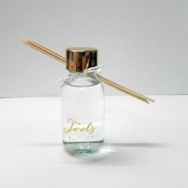 flesje met gouden dop