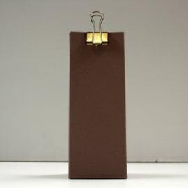 hoge doos met gaatje, crush brown