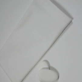 wit katoenen zakje