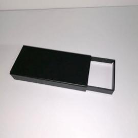 hardkartonnen schuifdoos, zwart