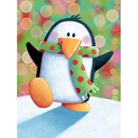brief vrolijke pinguin, klein