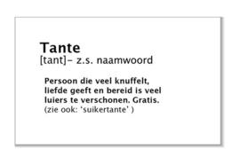 Tante (tant)