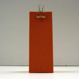 hoge doos met gaatje,  oranje