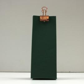 hoge doos met gaatje, forest green