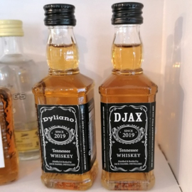 Jack Daniels 5cl, gepersonaliseerd, 10st