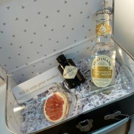 Gelukskoffertje gin tonic