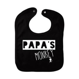 slab zwart, papa's monkey