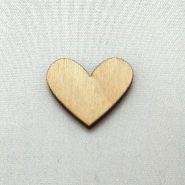 Houten figuurtje hart