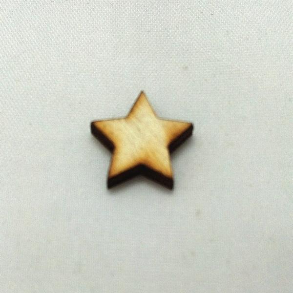 Houten figuurtje ster