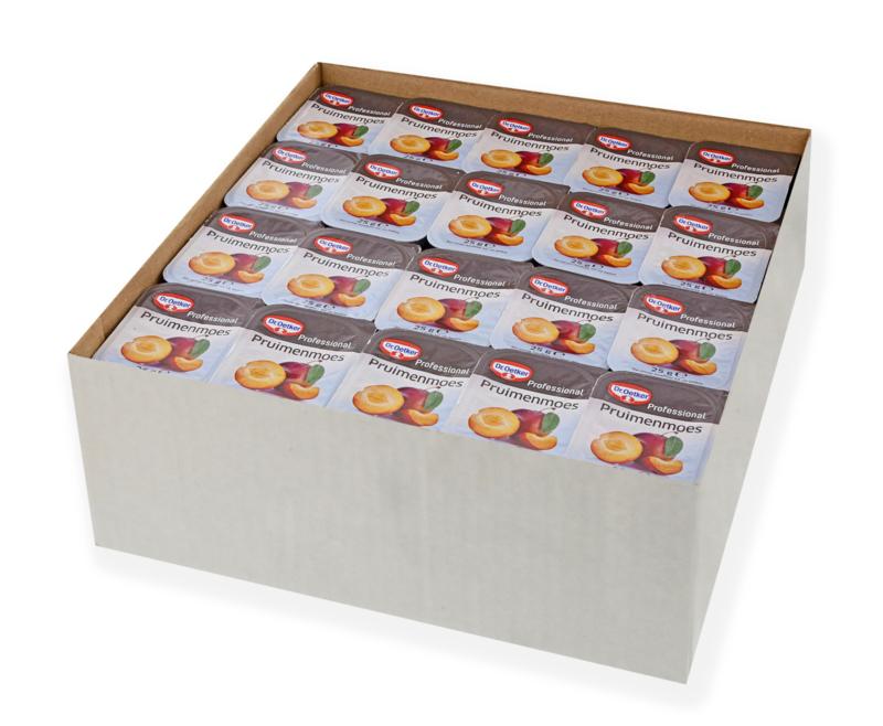Pruimenmoes 100 stuks voordeelverpakking