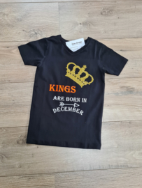 Kings are born in.....