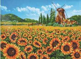 sunflower windmil
