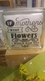 Als moeders bloemen waren