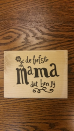Mama is de liefste