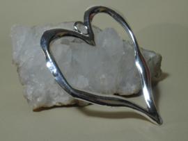 Exclusieve hanger hartvorm van Tibetaans zilver