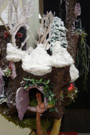 Cursus kerst kasteellamp