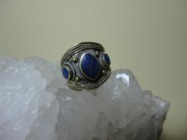 Ring met Lapis Lazuli herkomst Afghanistan