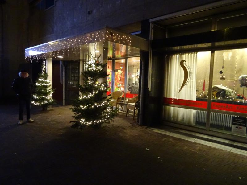 Blackline Art Studio in Kerst Sfeer