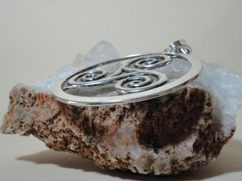 Exclusieve hanger Tibetaans zilver