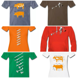 Sausages and charcuterie t-shirts, hoodies and sweaters