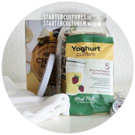 Compleet yoghurt starterpakket - ook voor vegan yoghurts