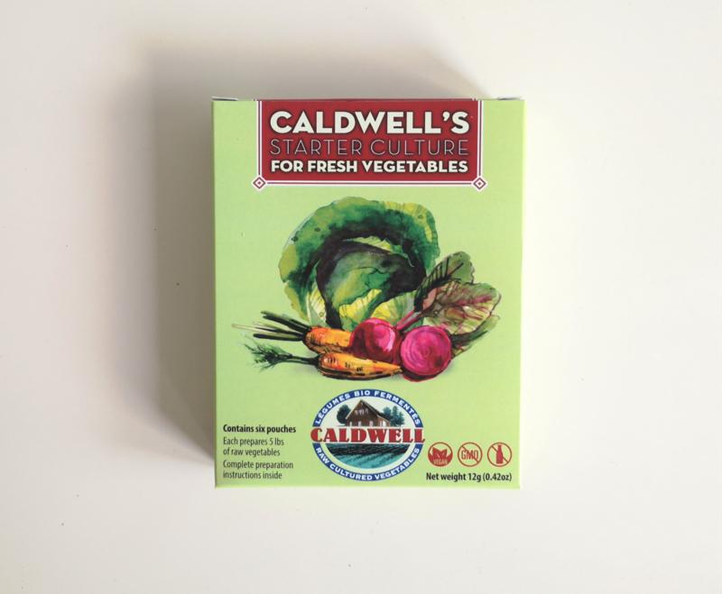 Caldwell groenten fermentatie starter