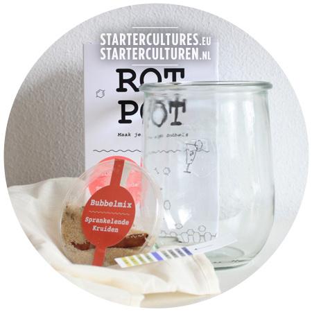 Rotpot bubbels set