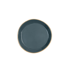 URBAN NATURE CULTURE GOOD MORNING PLATE SMALL, BLUE GREEN