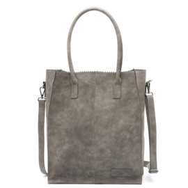 Zebra Trends Natural Bag Rosa Grey