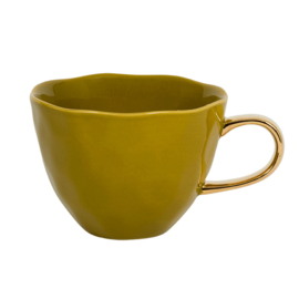 URBAN NATURE CULTURE GOOD MORNING CUP, AMBER GREEN