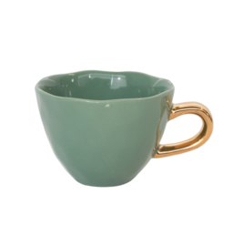 cut morning cup groen