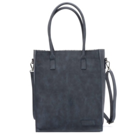 Zebra Trends Natural Bag Rosa dark bleu