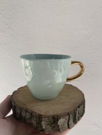 Good morning cup mini celadon