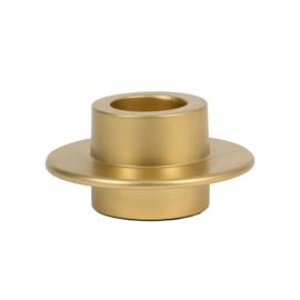 URBAN NATURE CULTURE WAX LIGHT HOLDER, GOLD