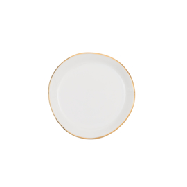 URBAN NATURE CULTURE GOOD MORNING PLATE SMALL, MORNING WHITE
