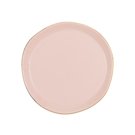 URBAN NATURE CULTURE GOOD MORNING PLATE, OLD PINK