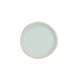 URBAN NATURE CULTURE GOOD MORNING PLATE SMALL, CELADON