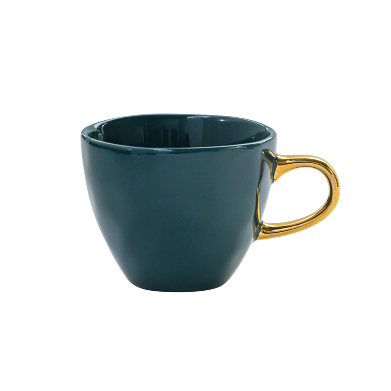 URBAN NATURE CULTURE GOOD MORNING CUP MINI, BLUE GREEN
