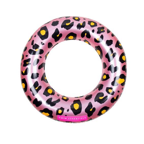 Zwemband Rosé gouden Panterprint 90cm