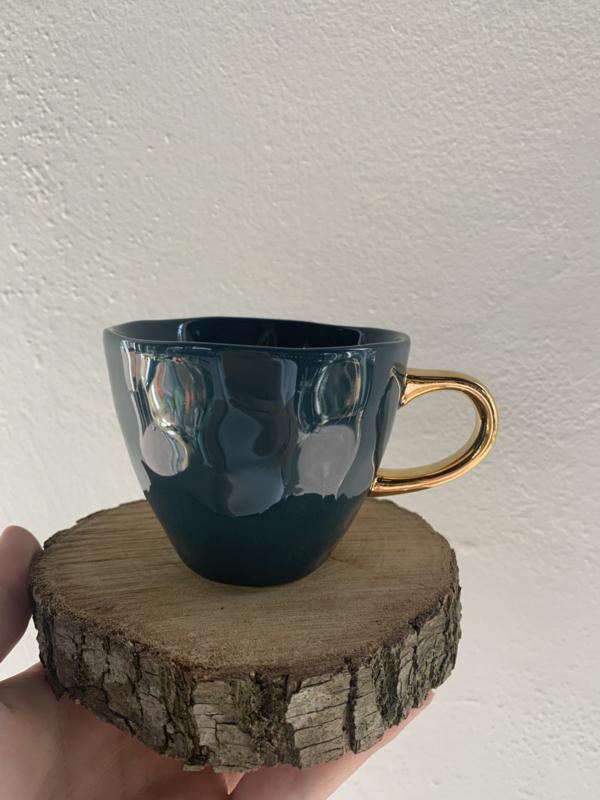 Good morning cup mini blue green
