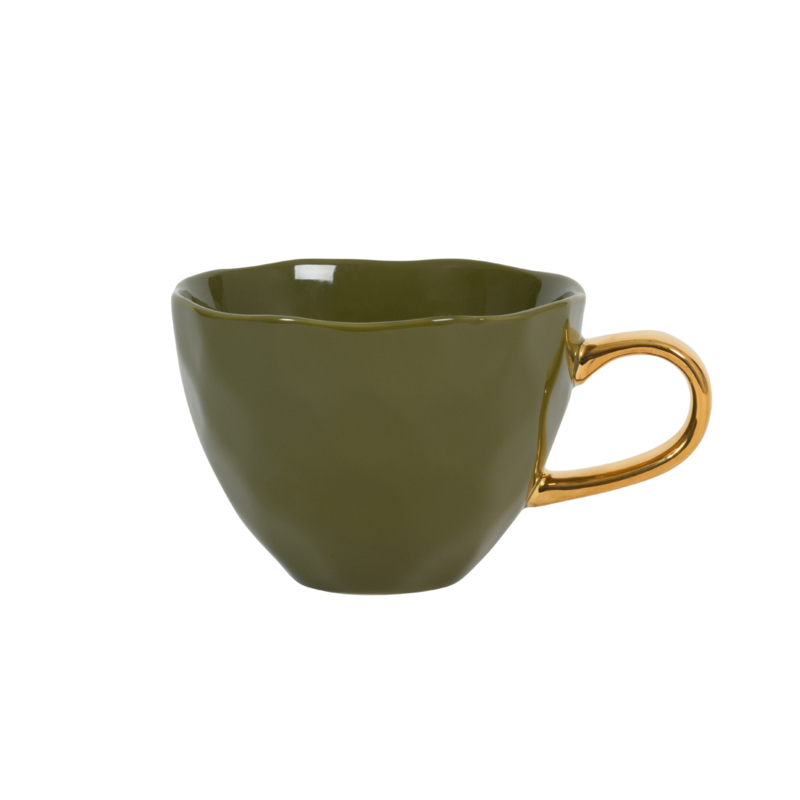URBAN NATURE CULTURE GOOD MORNING CUP, FIR GREEN