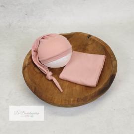 Wrap- basic serie (Parel roze)