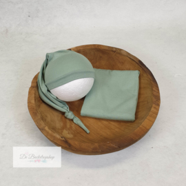 Wrap- basic serie (Mint groen)